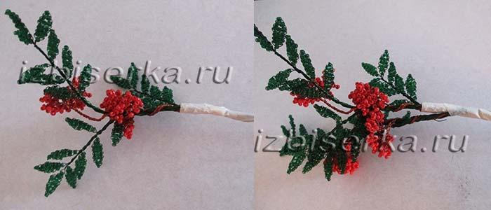 Сборка дерева рябины