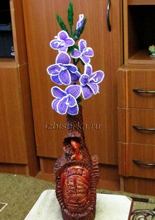 Фото гладиолуса из бисера