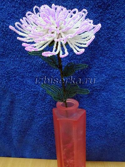 Все хризантем из бисера 14