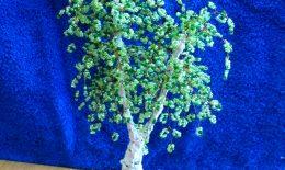 Фото деревьев из бисера