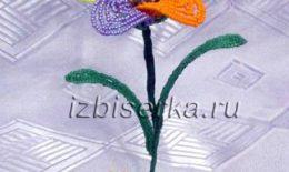 Цветик-семицветик из бисера